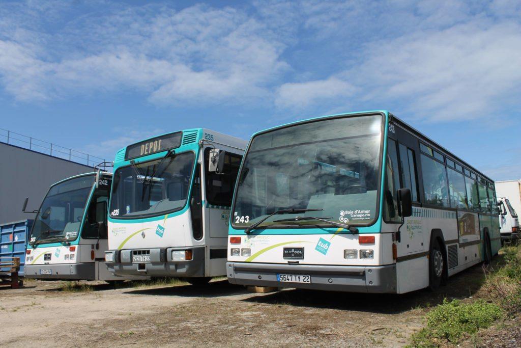 Les véhicules d'HistoTUB
