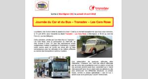 Journée du Car et du Bus – Transdev – Les Cars Rose @ dépôt Transdev – Les Cars Rose, Montlignon (95)