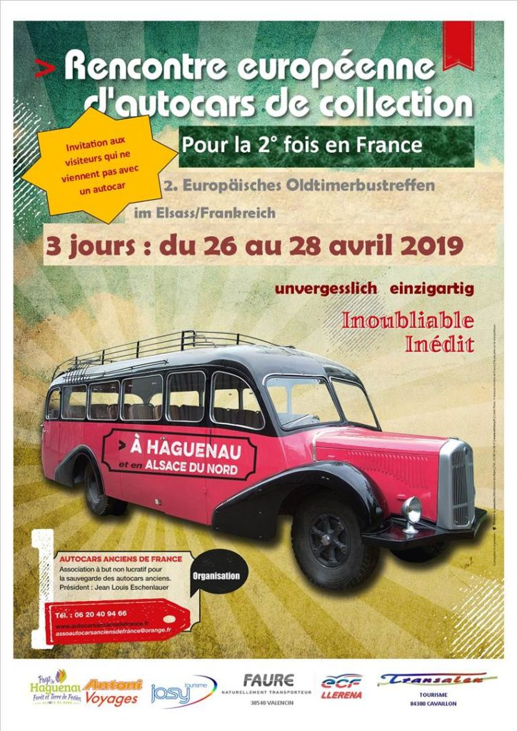 Rencontre Européenne d'Autocars de Collection @ Haguenau